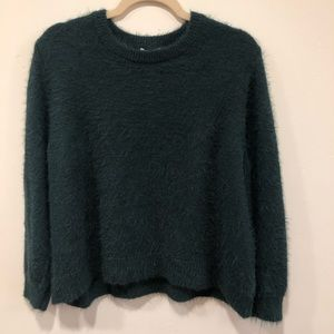 H&M Dark Green Sweater, Size L